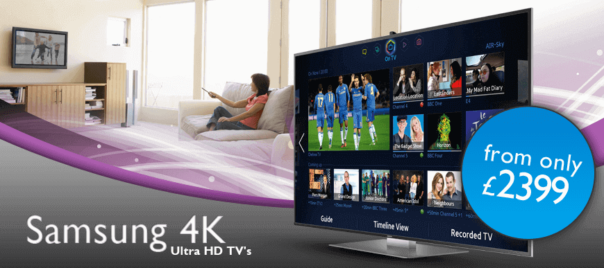 Click to see 4k TVs at great prices