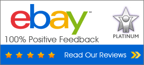 Check our eBay feedback!